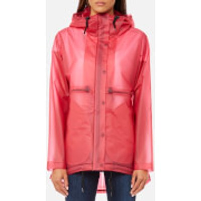 Hunter Women s Original Clear Smock   Bright Pink   L   Pink - 5013441880891