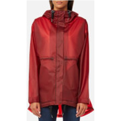 Hunter Women s Original Clear Smock   Military Red   M   Red - 5013441429328