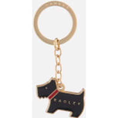 Radley Pageant black keyring  Black - 5025546315116