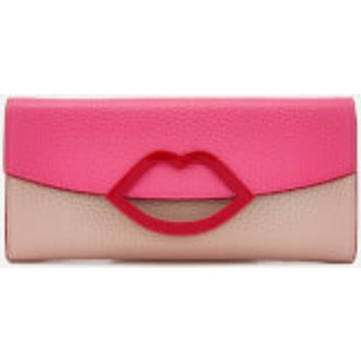 Lulu Guinness Women s Trisha Colour Block Wallet   Peony Nude Rose - 5060500336462