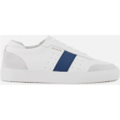 Axel Arigato Men's Dunk Leather Trainers - White/Navy - UK 9