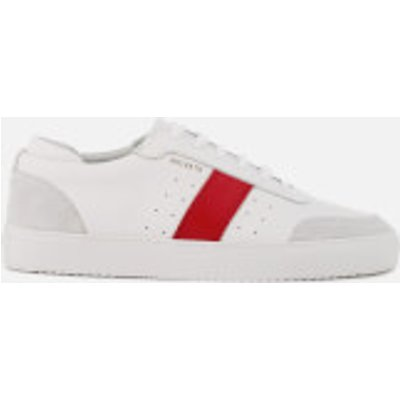 Axel Arigato Men's Dunk Leather Trainers - White/Red - UK 7