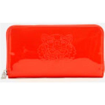 KENZO Women's Icon Continental Wallet - Medium Red