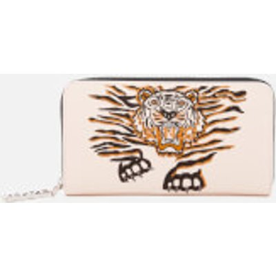 KENZO Women's Icon Continental Wallet - Faded Pink