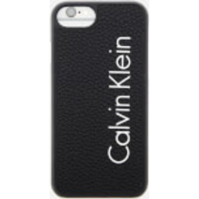 Calvin Klein Women's Fluid Click On Shell iPhone 7 Case - Black