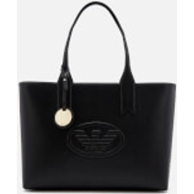 Emporio Armani Women's Freda Logo Eagle Tote Bag - Black