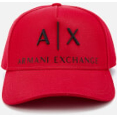 8054523558106  Armani Exchange Men s Logo Cap Absolute Red ffbdd3015b1c