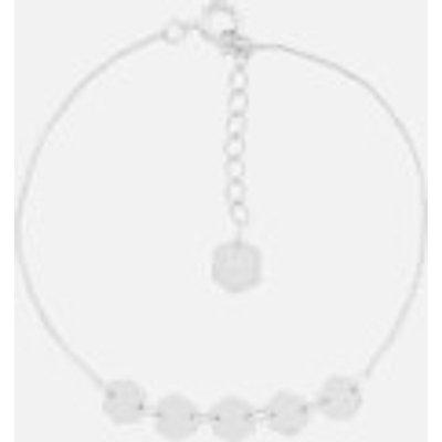 Cluse Women s Essentielle Hexagons Chain Bracelet   Silver - 8718924597644