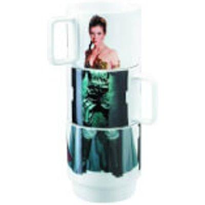Star Wars Stacking Mugs Leia, Han, Lando