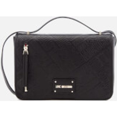 Love Moschino Women s Quilted Shoulder Bag   Black - 8054388058568
