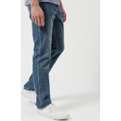 A.P.C. Men's Petit Standard Low Rise Fitted Leg Jeans - Indigo Delave - W36 - Blue
