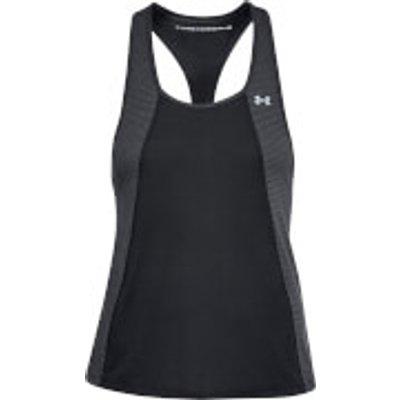 Under Armour Women s Threadborne Fashion Tank Top   Black   M   Black - 191169265208