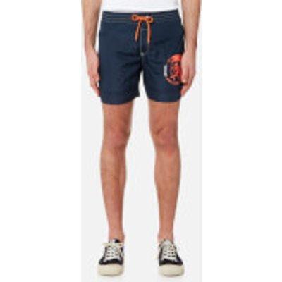 Diesel Men s Wave Basic Swim Shorts   Navy   L   Navy - 8055192435248