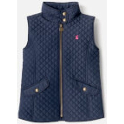 Joules Girls' Silvan Quilted Gilet - French Navy - 11-12 Years - Navy
