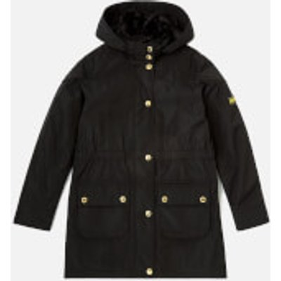 Barbour Girl's International Garrison Jacket - Black - 14-15 years/XXL - Black