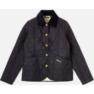 Barbour Girl's Summer Liddesdale Jacket - Navy/Pearl - 12-13 years/XL - Navy