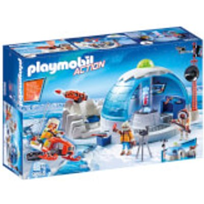 Playmobil Arctic Expedition Headquarters (9055)