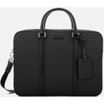 Michael Kors Men s Jet Set Logo Briefcase   Black - 191262379444
