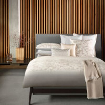 Hugo BOSS Opalia Pearl Duvet Cover   Double   Cream - 3596486440326