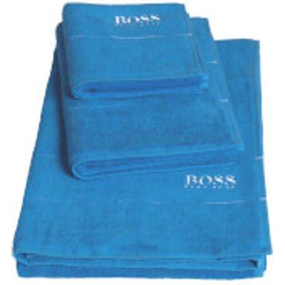 Hugo BOSS Plain Towels   Pool   Bath Sheet   Blue - 3596488824636