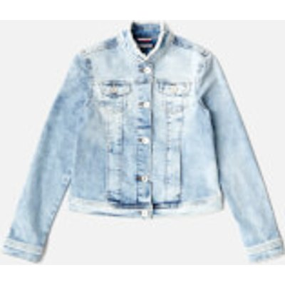Tommy Hilfiger Girls' Denim Trucker Jacket - Blue - 16 Years - Blue
