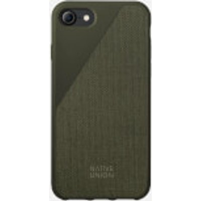Native Union Clic Canvas - iPhone 7/8 Case - Olive