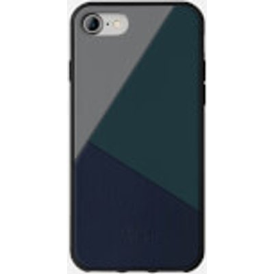 Native Union Clic Marquetry - iPhone 7/8 Case - Petrol Blue