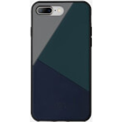 Native Union Clic Marquetry - iPhone 7 Plus/8 Plus Case - Petrol Blue