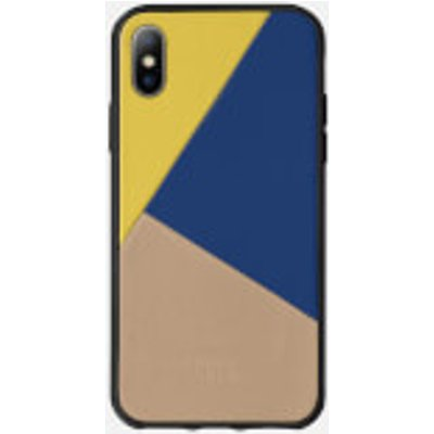 Native Union Clic Marquetry - iPhone X Case - Canary