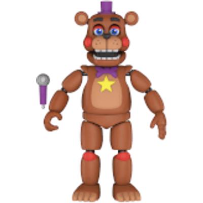 Five Nights at Freddy's Pizza Simulator Rockstar Freddy Action Figure