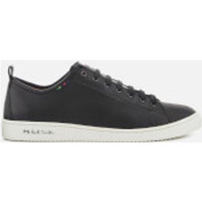 PS Paul Smith Men s Miyata Leather Low Top Trainers   Black   UK 10   Black - 5057613209080