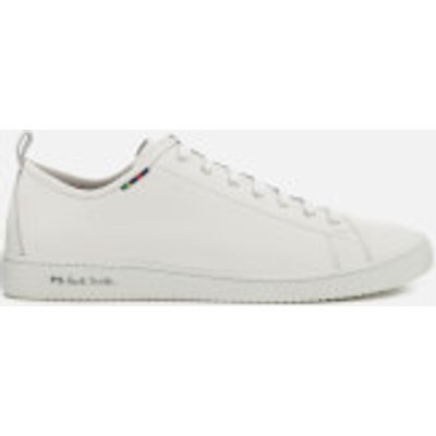 PS Paul Smith Men's Miyata Leather Low Top Trainers - White - UK 8