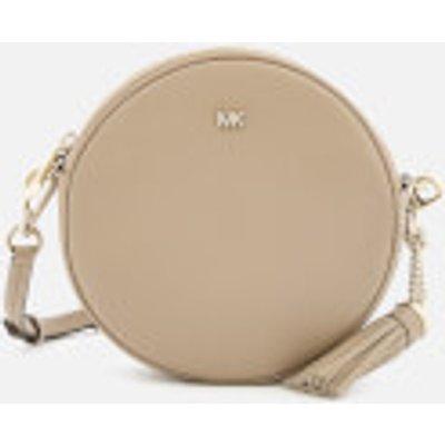 MICHAEL MICHAEL KORS Women s Small Grain Pebble Leather Canteen Bag   Truffle - 192317327465