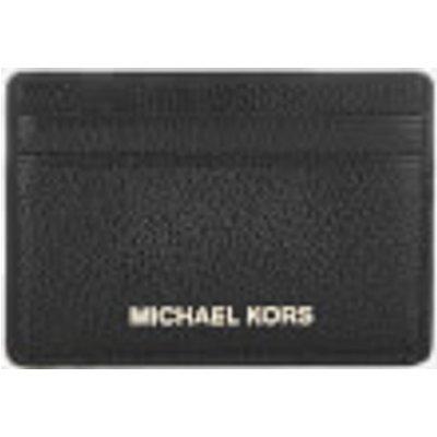 MICHAEL MICHAEL KORS Women s Mercer Pebble Card Holder   Black - 191262368110