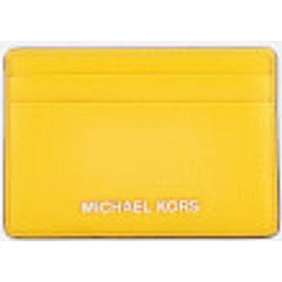 MICHAEL MICHAEL KORS Women s Mercer Pebble Card Holder   Sunflower - 192317318043