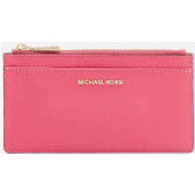 MICHAEL MICHAEL KORS Women s Mercer Pebble Large Slim Card Case   Rose Pink - 192317319408