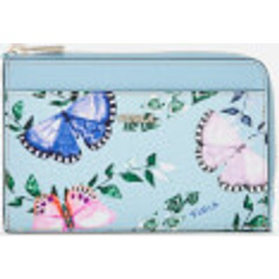 Furla Women's Babylon Medium Credit Card Case - Blue