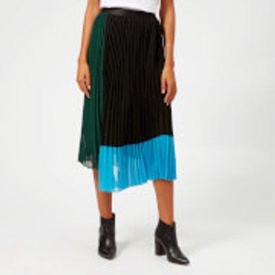 Gestuz Women s Plissa Skirt   Botanical Garden   EU 40 UK 12   Green - 5712436626017