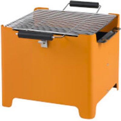 Tepro Chill&Grill Charcoal BBQ Cube - Orange