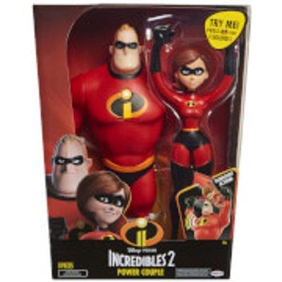 Jakks Pacific Disney Incredibles 2 12 Inch Mrs. and Mr. Incredible Figures
