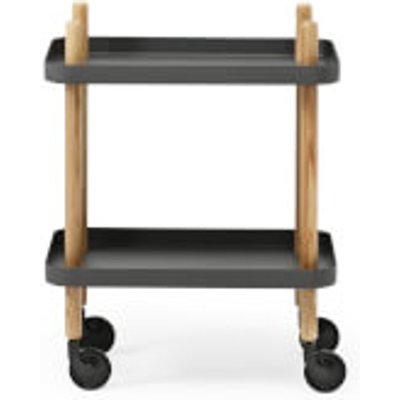 Normann Copenhagen Block Table Trolley - Dark Grey