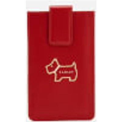 Radley Women's Heritage Dog Outline Phone Case - Claret