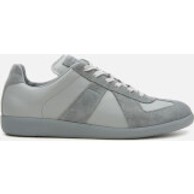 Maison Margiela Men's Replica Calfskin/Suede Low Top Trainers - Grafite - EU 45/UK 11 - Grey