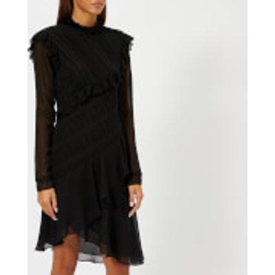 Philosophy di Lorenzo Serafini Women's Aysemetric Black Dress - Black - IT 40/UK 8 - Black