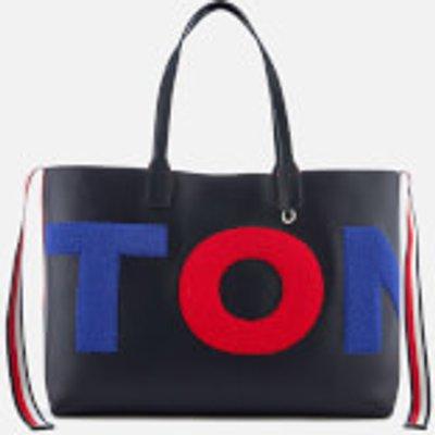 Tommy Hilfiger Women s Iconic Tote Bag   Navy - 8719704559739