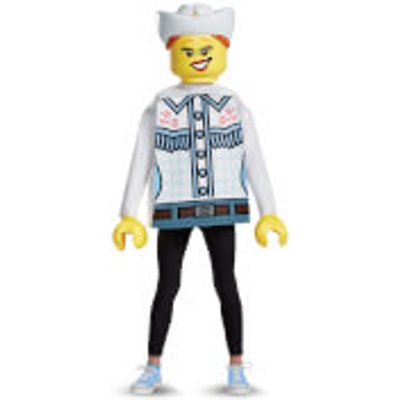 LEGO Iconic Kids Cowgirl Classic Fancy Dress - White - S/4-6 Years - White