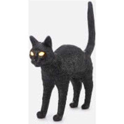 Seletti Jobby The Cat Lamp - Black