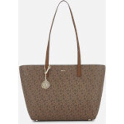 DKNY Women s Bryant Park Medium Tote Bag   Mocha - 802892452796