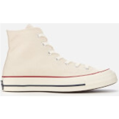 Converse Chuck 70 Hi-Top Trainers - Parchment/Garnet/Egret - UK 10 - Cream/White/Beige