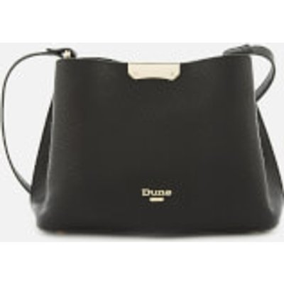 Dune Women s Dinidarrow Small Triangle Base Unlined Tote Bag   Black - 5057661470036